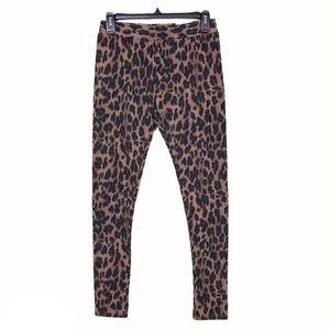 NWT Style & Co Animal Print Pull On Leggings XS